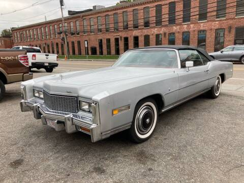 1976 Cadillac Eldorado for sale at The Car Store in Milford MA