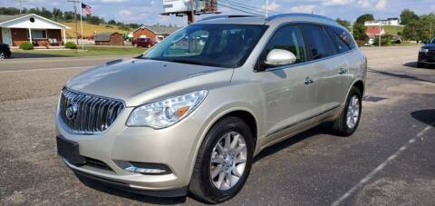2017 Buick Enclave for sale at Gallia Auto Sales in Bidwell OH