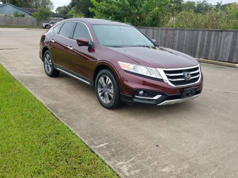 2014 Honda Crosstour for sale at MOTORSPORTS IMPORTS in Houston TX