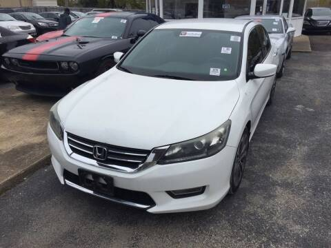 2013 Honda Accord for sale at Dependable Auto Sales in Montgomery AL