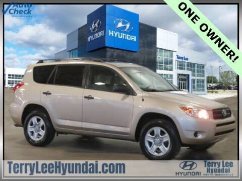 2008 Toyota RAV4 for sale at Terry Lee Hyundai in Noblesville IN