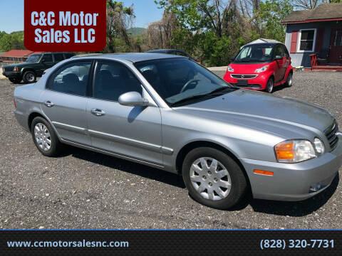 2004 Kia Optima for sale at C&C Motor Sales LLC in Hudson NC