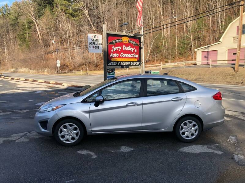 2013 Ford Fiesta for sale at Jerry Dudley's Auto Connection in Barre VT