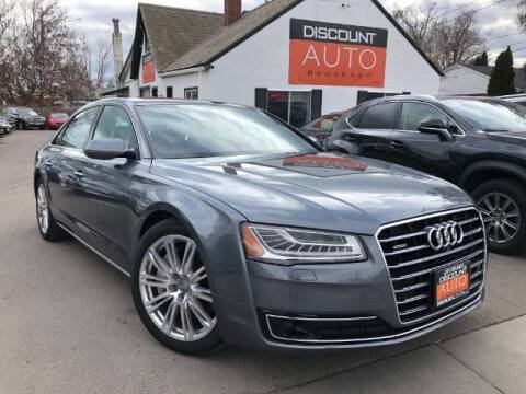 2015 Audi A8 L for sale at Discount Auto Brokers Inc. in Lehi UT