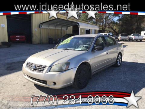 2005 Nissan Altima for sale at J D USED AUTO SALES INC in Doraville GA