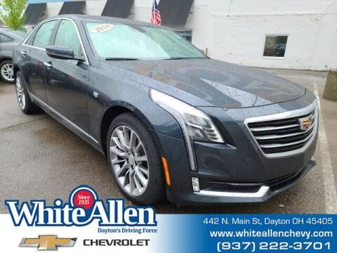 2018 Cadillac CT6 for sale at WHITE-ALLEN CHEVROLET in Dayton OH