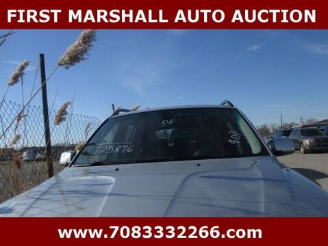 2008 BMW X3 for sale at First Marshall Auto Auction in Harvey IL