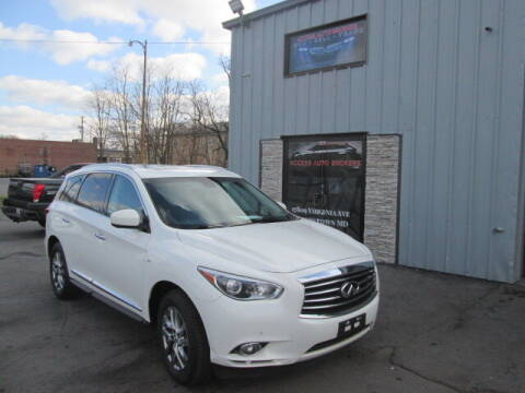 2014 Infiniti QX60 for sale at Access Auto Brokers in Hagerstown MD