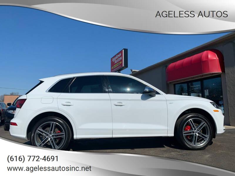 2018 Audi SQ5 for sale at Ageless Autos in Zeeland MI