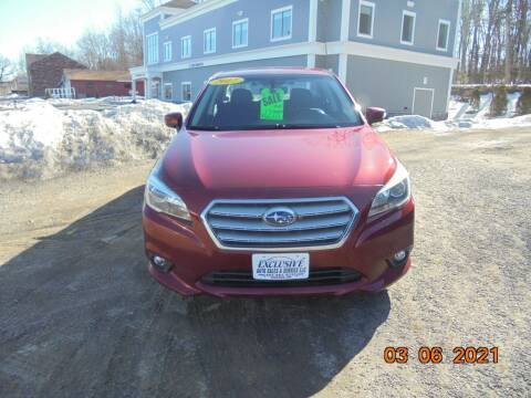 2017 Subaru Legacy for sale at Exclusive Auto Sales & Service in Windham NH