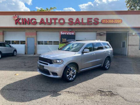 2020 Dodge Durango for sale at KING AUTO SALES  II in Detroit MI
