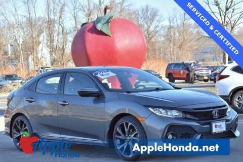 2017 Honda Civic for sale at APPLE HONDA in Riverhead NY