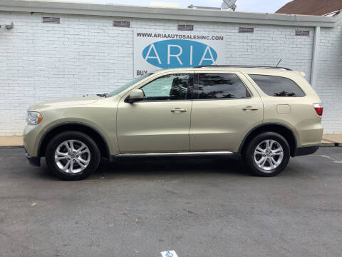 2012 Dodge Durango for sale at ARIA  AUTO  SALES in Raleigh NC