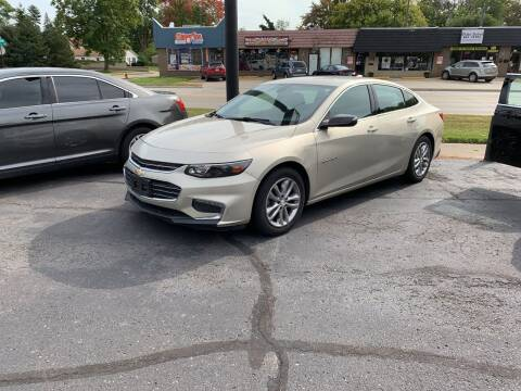2016 Chevrolet Malibu for sale at Car Now LLC in Madison Heights MI