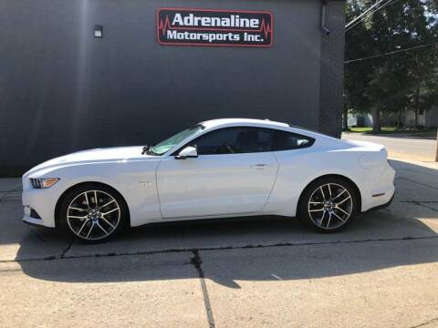 2017 Ford Mustang for sale at Adrenaline Motorsports Inc. in Saginaw MI