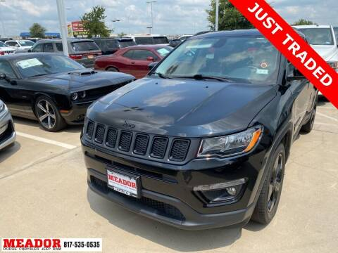 2019 Jeep Compass for sale at Meador Dodge Chrysler Jeep RAM in Fort Worth TX