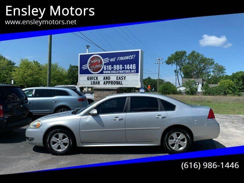 2011 Chevrolet Impala for sale at Ensley Motors in Allendale MI