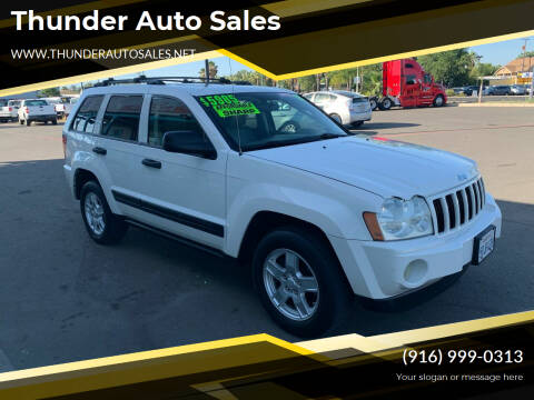 2005 Jeep Grand Cherokee for sale at Thunder Auto Sales in Sacramento CA