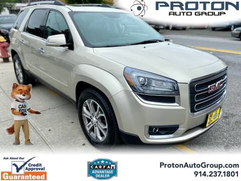 2014 GMC Acadia for sale at Proton Auto Group in Yonkers NY