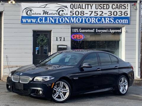 2014 BMW 5 Series for sale at Clinton MotorCars in Shrewsbury MA