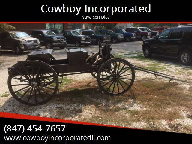 1999 Amish buggy Four seat wagon for sale at Cowboy Incorporated in Waukegan IL
