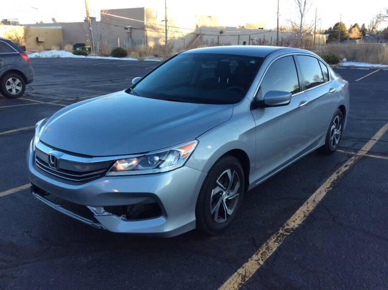 2017 Honda Accord for sale at AROUND THE WORLD AUTO SALES in Denver CO