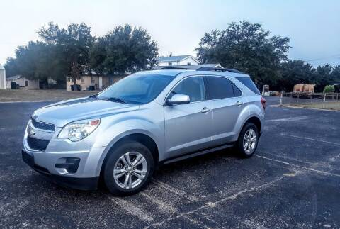 2013 Chevrolet Equinox for sale at Rons Auto Sales in Stockdale TX