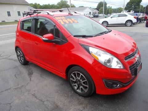 2014 Chevrolet Spark for sale at Dansville Radiator in Dansville NY