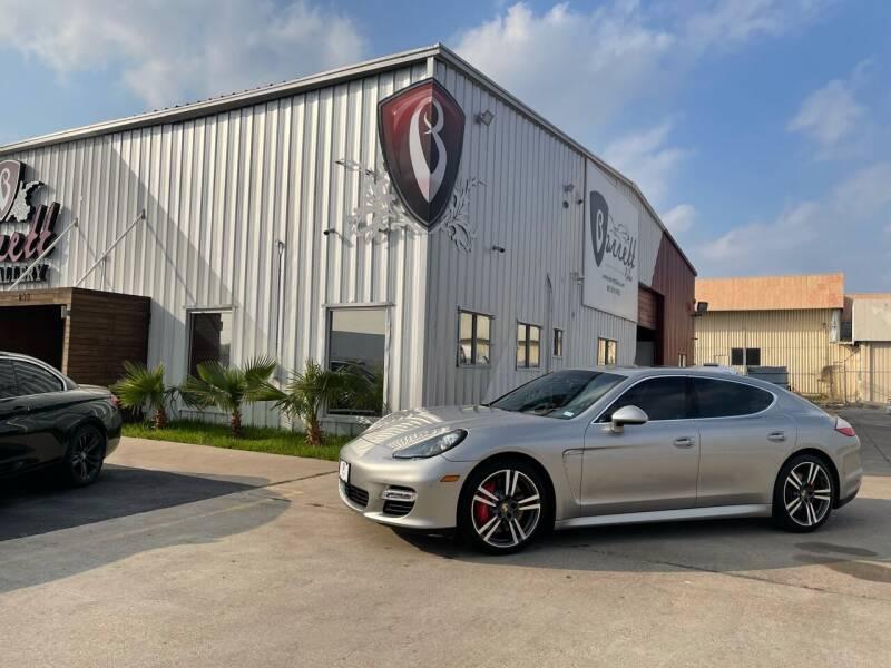 2012 Porsche Panamera for sale at Barrett Auto Gallery in San Juan TX