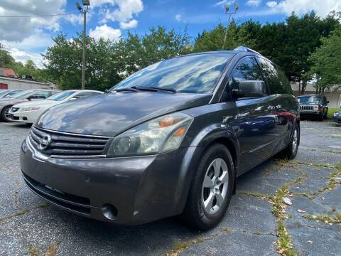 2008 Nissan Quest for sale at Car Online in Roswell GA