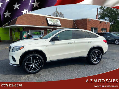 2016 Mercedes-Benz GLE for sale at A-Z Auto Sales in Newport News VA