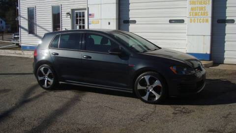 2015 Volkswagen Golf GTI for sale at Southeast Motors INC in Middleboro MA