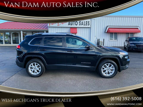 2014 Jeep Cherokee for sale at Van Dam Auto Sales Inc. in Holland MI