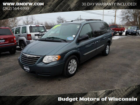 2007 Chrysler Town and Country for sale at Budget Motors of Wisconsin in Racine WI