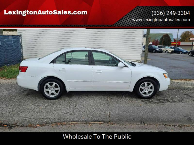2006 Hyundai Sonata for sale at LexingtonAutoSales.com in Lexington NC