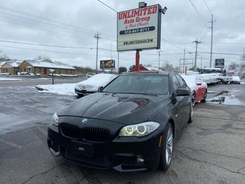 2013 BMW 5 Series for sale at Unlimited Auto Group in West Chester OH