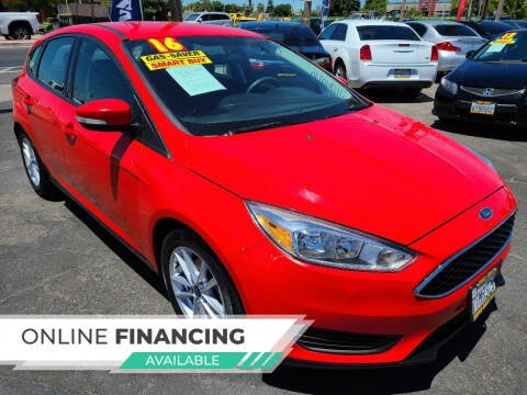 2016 Ford Focus for sale at Super Cars Sales Inc #1 in Oakdale CA