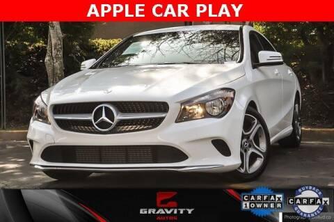 2019 Mercedes-Benz CLA for sale at Gravity Autos Atlanta in Atlanta GA