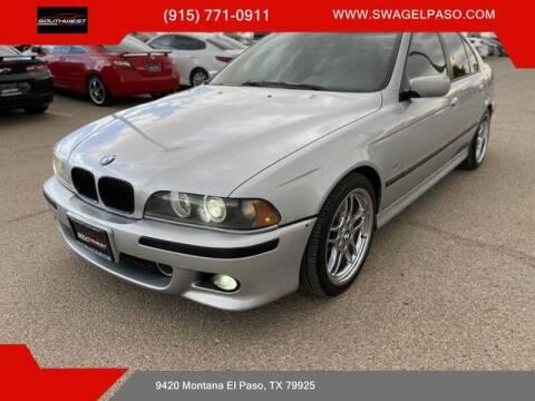 1998 BMW 5 Series for sale at SOUTHWEST AUTO GROUP-EL PASO in El Paso TX