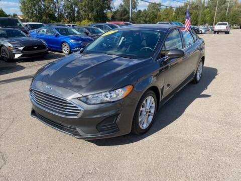 2019 Ford Fusion Hybrid for sale at Atchinson Ford Sales Inc in Belleville MI
