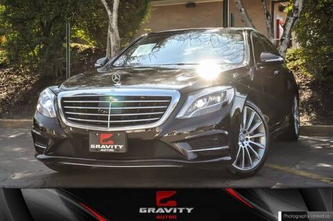2016 Mercedes-Benz S-Class for sale at Gravity Autos Atlanta in Atlanta GA