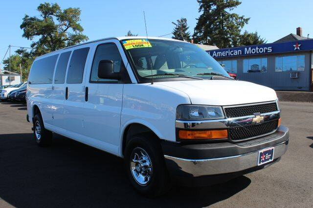 2017 Chevrolet Express Passenger for sale at All American Motors in Tacoma WA
