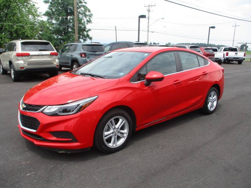 2017 Chevrolet Cruze for sale at FINAL DRIVE AUTO SALES INC in Shippensburg PA