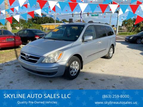 2008 Hyundai Entourage for sale at SKYLINE AUTO SALES LLC in Winter Haven FL
