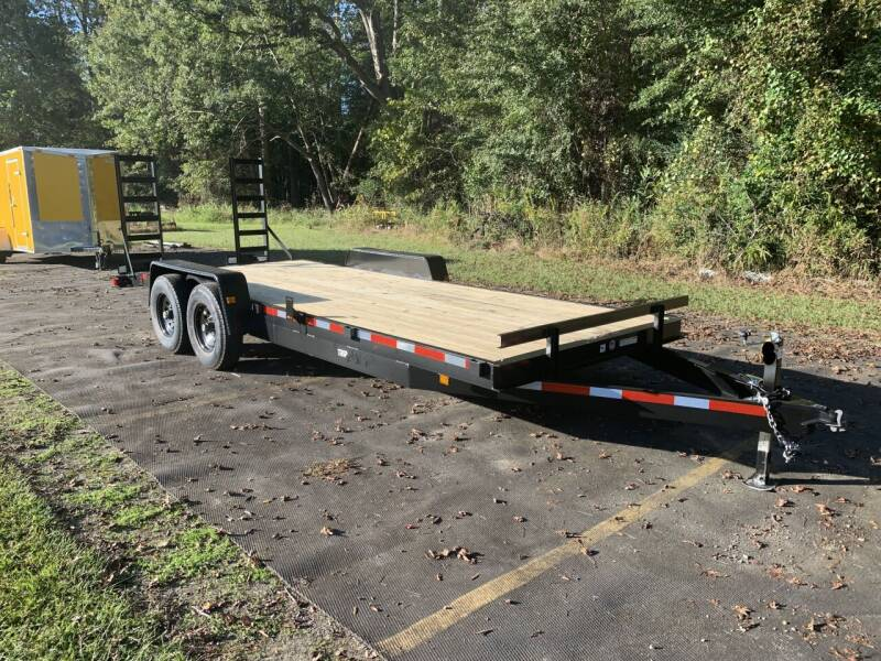 2021 New Triple Crown 7x20 14K Equipment Trailer for sale at Tripp Auto & Cycle Sales Inc in Grimesland NC