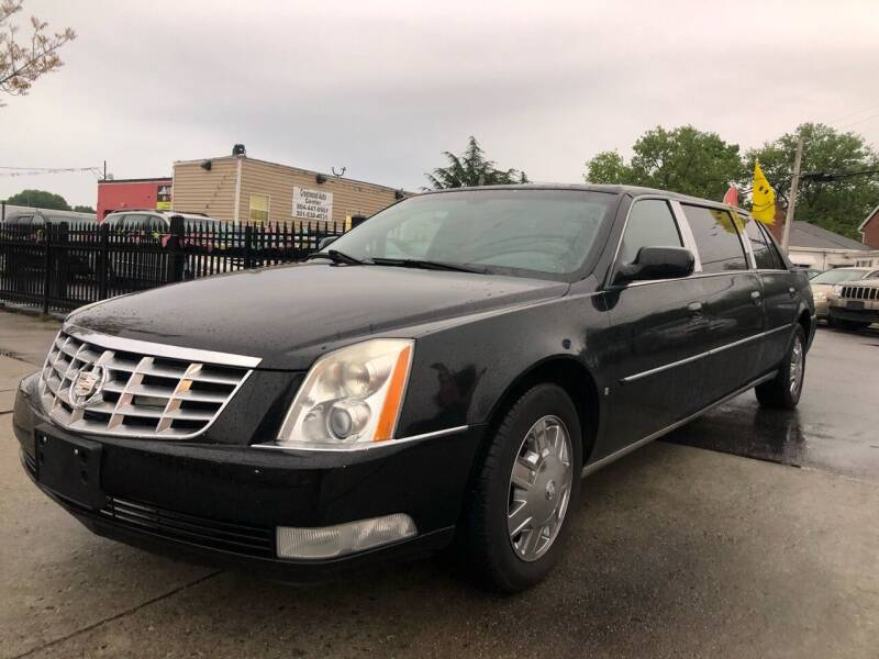 2007 Cadillac DTS Pro for sale at Crestwood Auto Center in Richmond VA