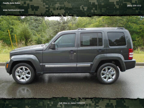 2011 Jeep Liberty for sale at Family Auto Sales in Rock Hill SC