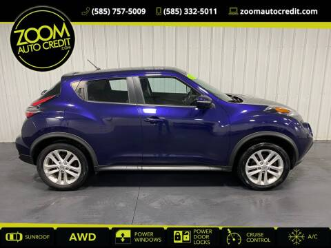 2015 Nissan JUKE for sale at ZoomAutoCredit.com in Elba NY