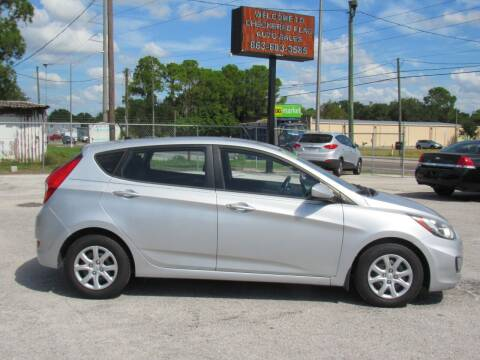 2012 Hyundai Accent for sale at Checkered Flag Auto Sales EAST in Lakeland FL