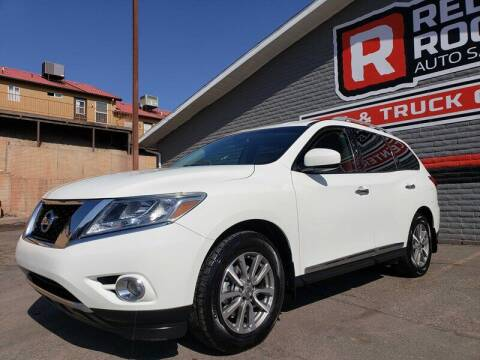 2015 Nissan Pathfinder for sale at Red Rock Auto Sales in Saint George UT
